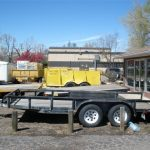 flatbed trailer, motorcycle trailer, utility trailer