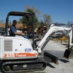 Bobcat Skidsteer Mini-excavator Rental