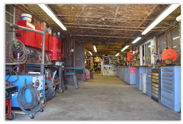 A and J Equipment Rentals Work Shop
