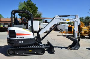 Bobcat Mini Excavator - A & J Time Rentals, Inc