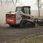 Bobcat Tiller Attachment & Weed Mower or Brush Attachment