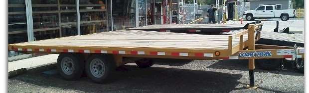 Heavy Duty Dual Axle Load Trailer